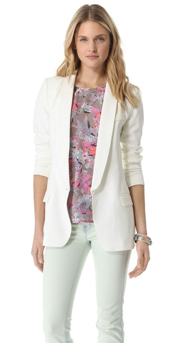 SMYTHE Long Shawl Blazer at Shopbop.com