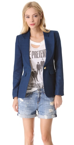 SMYTHE Peaked Lapel Blazer at Shopbop / East Dane