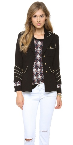 SMYTHE Band Jacket at Shopbop / East Dane