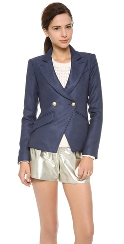 SMYTHE Crossover Blazer at Shopbop / East Dane