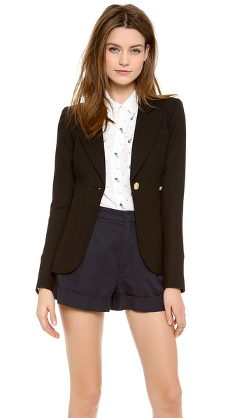 Smythe Duchess Blazer - Black at Shopbop / East Dane