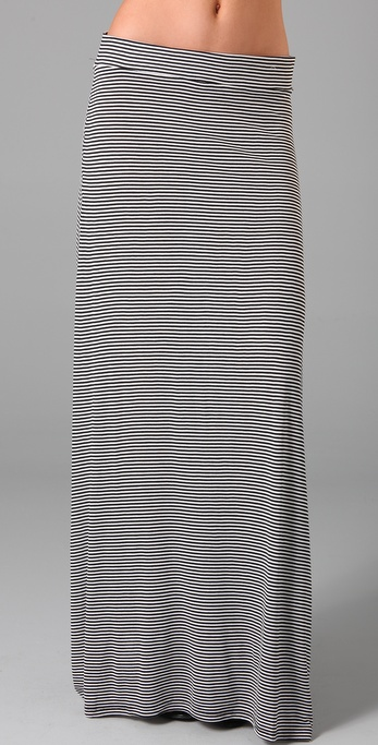 Soft Joie Redmond Mini Stripe Long Skirt