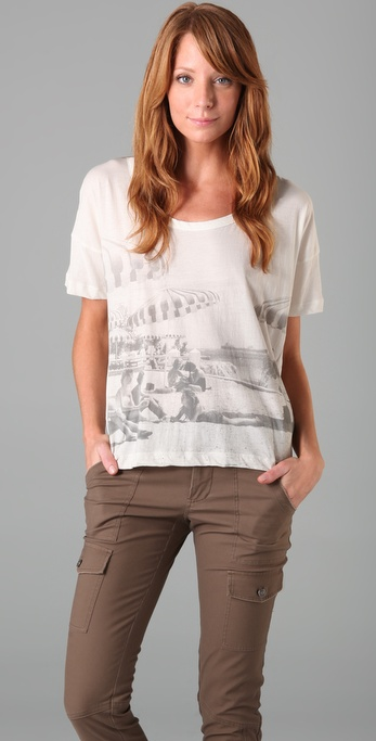 Soft Joie Truman Club Photo Tee