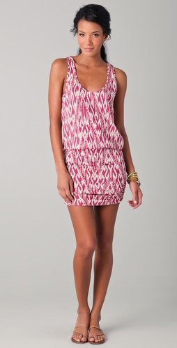 Soft Joie Bond Ikat Zigzag Dress