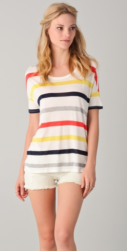 Soft Joie lla Striped Top