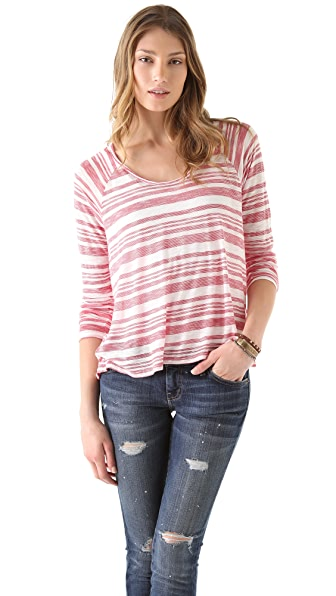 Soft Joie Hidalgo Striped Top
