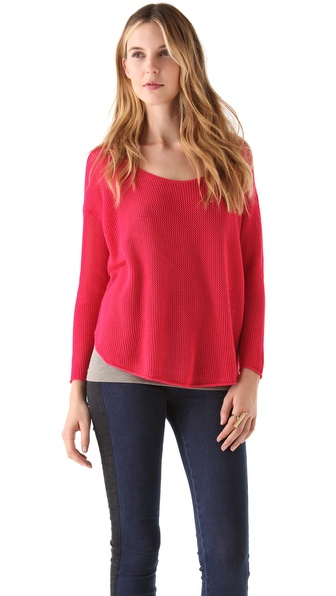 Soft Joie Nia Mesh Sweater