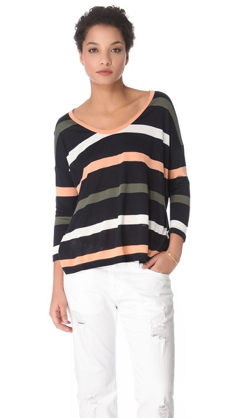 Soft Joie Fawn Stripe Tee
