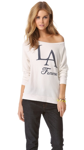 Sol Angeles La Femme Pullover