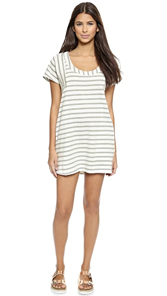 Solid & Striped Solid & Striped The Tee Dress (Multicolor)