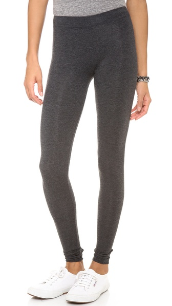 Solow High Rise Stirrup Leggings - Charcoal
