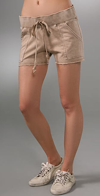 SOLOW French Terry Cargo Shorts