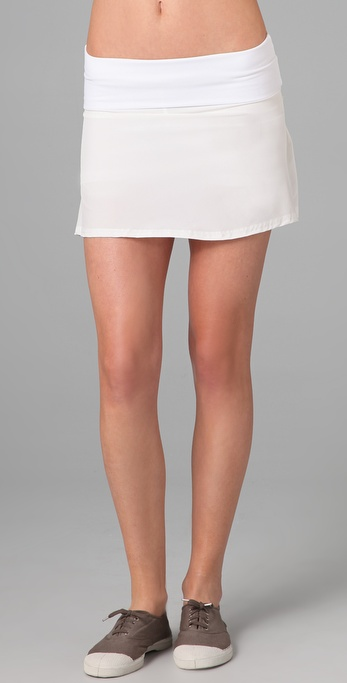 SOLOW Pleated Tennis Skort