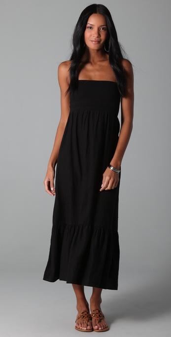 SOLOW Linen Convertible Long Dress / Skirt