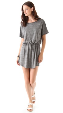 SOLOW So Low Sport Burnout Mini Dress