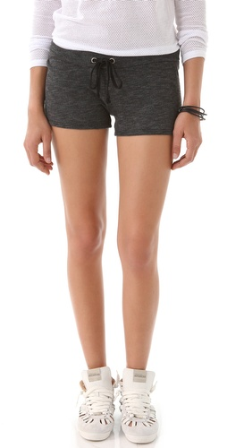 Shop So Low French Terry Shorts with Mesh - So Low online - Apparel,Womens,Bottoms,Shorts, at Lilychic Australian Clothes Online Store