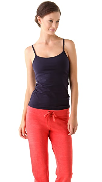 SOLOW Workout Camisole with Contrast Back Straps