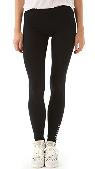 SOLOW Jersey Studded Leggings
