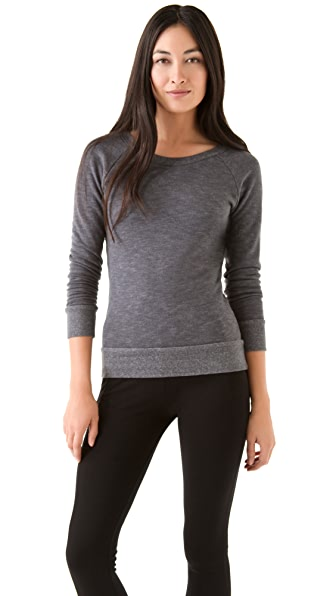 SOLOW Pullover with V Back