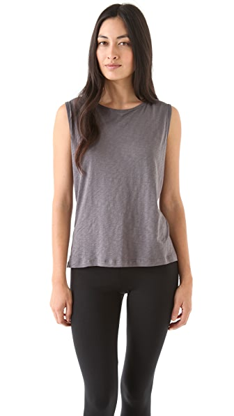 SOLOW Racer Tank with Zip