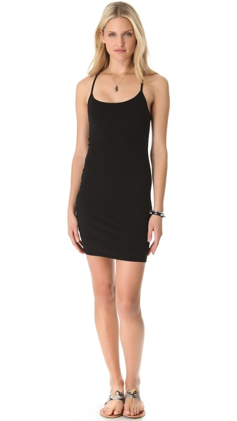 SOLOW Jersey Racer Back Dress