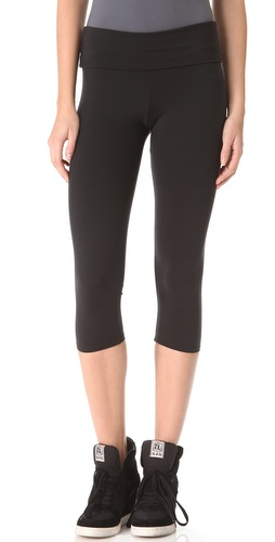 Shop So Low Cropped Fold Over Leggings and So Low online - Apparel,Womens,Bottoms,Leggings, online Store