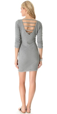 SOLOW Dress with Deep V Back