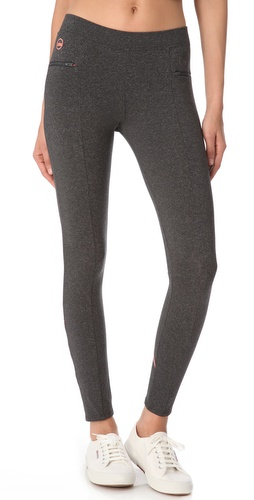 SOLOW Contrast Stitch Leggings