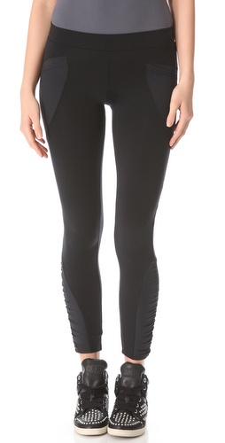 Shop So Low Shirred Patch Leggings and So Low online - Apparel,Womens,Bottoms,Leggings, online Store