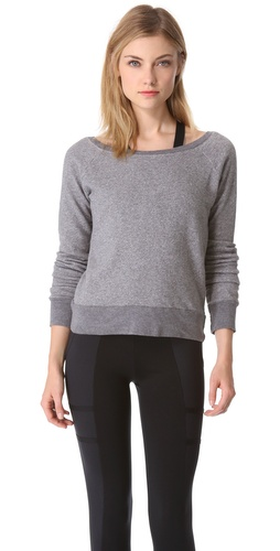 SOLOW V Back Sweatshirt
