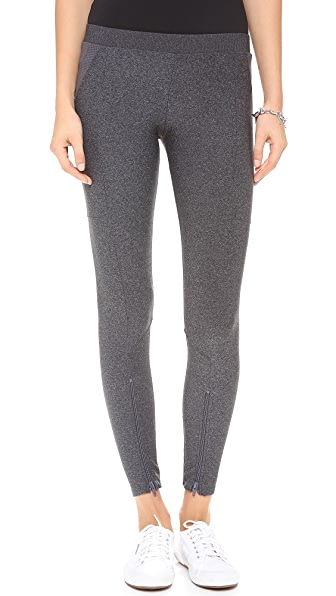 SOLOW Leggings with Front Zip