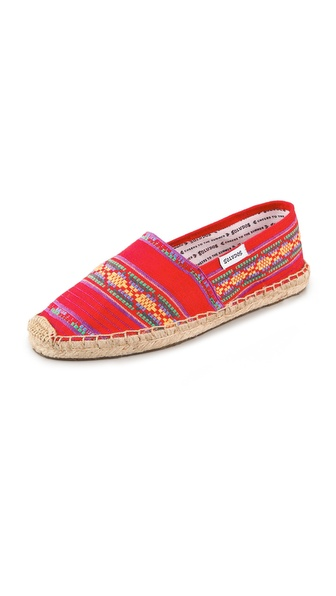 Soludos Pico Flat Espadrilles