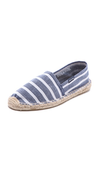Soludos Classic Striped Espadrilles