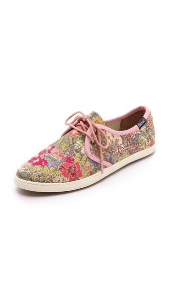 Soludos Floral Derby Sneakers