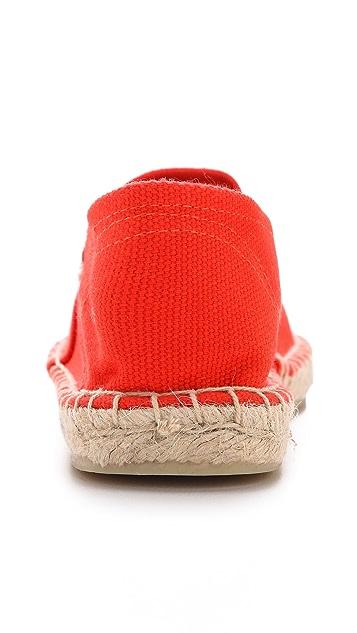 Soludos Dali 平底帆布便鞋