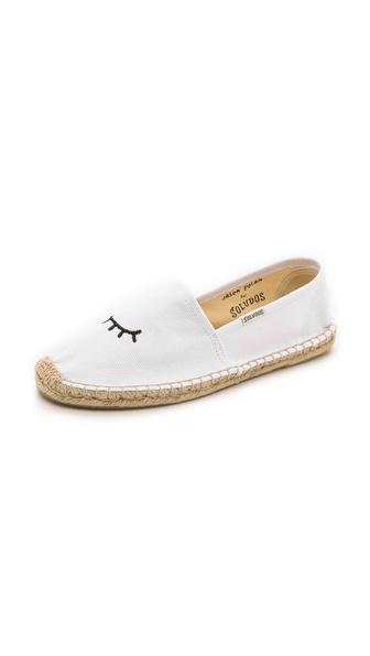 Shop Soludos online and buy Soludos Jason Polan For Soludos Wink Espadrilles White online
