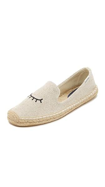 Soludos Jason Polla x Soludos 眨眼帆布便鞋