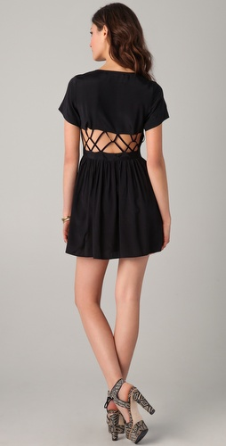 Something Else String Fingers Dress