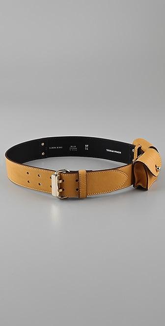 Sonia Rykiel Double Pouch Belt