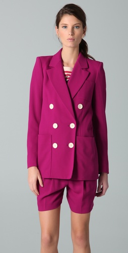 Sonia Rykiel Double Breasted Blazer