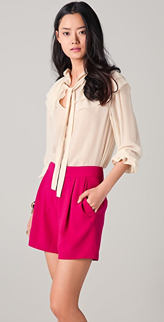 Sonia Rykiel Ruffled Collar Blouse