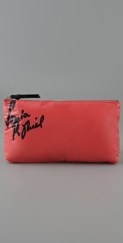Sonia Rykiel Signature Trousee Zippee Pouch