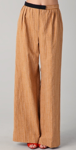 Sonia Rykiel Chevron Pants