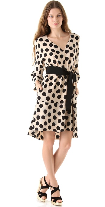 Sonia Rykiel Polka Dot Dress
