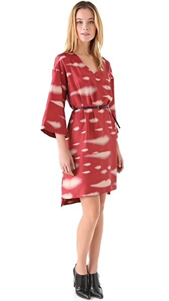 Sonia Rykiel V Neck Tunic Dress With Belt
