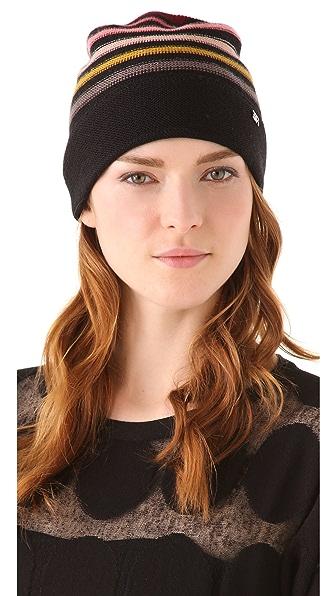 Sonia Rykiel Multicolor Stripes Hat
