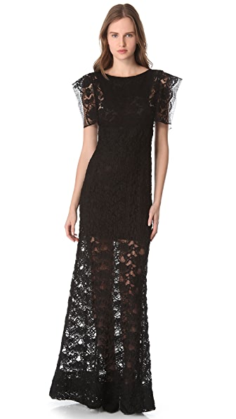 Sonia Rykiel Lace Maxi Dress
