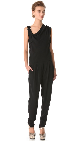 Sonia Rykiel Asymmetrical Jumpsuit