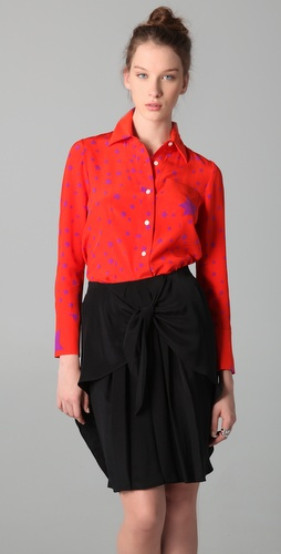Sonia by Sonia Rykiel Star Print Blouse