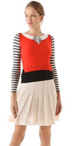 Sonia by Sonia Rykiel Cotton Cashmere Sweater